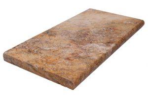 سنگ تراورتن شکلاتی پله