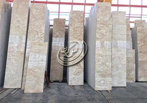 صادرات انواع سنگ تراورتن ابر و باد حاجی آباد
